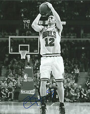 **GFA Chicago Bulls *KIRK HINRICH* Signed 8x10 Photo COA**