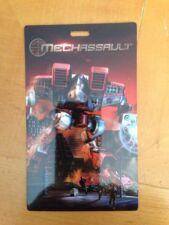 Mechassault XBOX Lanyard Card