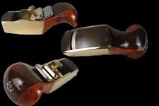 "Convex bottom brass wrap blackwood planes 2 1/8""  woodworking plane #8665"