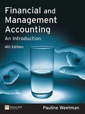 Financial and Management Accounting: An Introduction (4th Edition)-ExLibrary