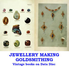 Jewellery Making & Design Goldsmithing Jewelry Vintage Books on Data Disc