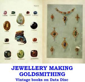 Jewellery Making & Design Goldsmithing Jewelry Vintage Books on Data Disc