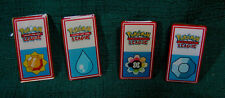 Pokemon League Trading Card Pins Lot of 4 New Nintendo