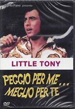Dvd  **PEGGIO PER ME .. MEGLIO PER TE** di Bruno Corbucci con Little Tony 1967