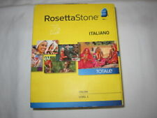 Rosetta Stone ITALIAN  ITALIANO (27823) for PC, Mac - NO ACCESS CODE AVAILABLE