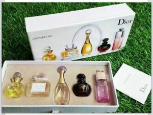 Dior Christian Perfume Gift Set (Set of 5 Miniatures) BEST GIFT