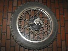 1985 Yamaha XT350 Rear Wheel Rim Brake Axle D.I.D. 2.15 x 18