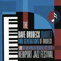 Dave Brubeck Quartet - Two Generations Of Brubeck: Apollo Theater 1973 (CD)  NEW