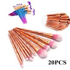 20Pcs Unicorn Make up Brushes Set Foundation Eyeshadow Lip Powder Makeup Tools