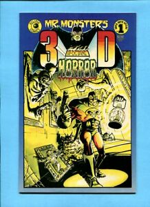 Mr. Monster's 3-D Hi-Octane Horror #1 Eclipse Comics 1986 Glasses Included