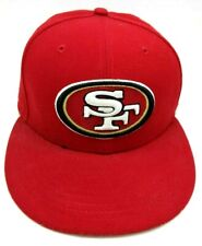 SAN FRANCISCO 49ers fitted red hat cap - size 7 1/8 ;  M  ;56.8 cm  59FIFTY