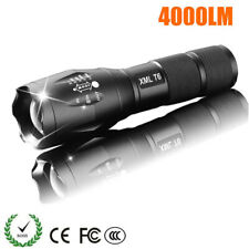 LED Rechargeable Flashlight - 4000 lumens - Outdoor Camping Powerful Led Light