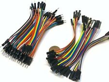 50x male to male and 50x female to female jumper wires arduino 2.54mm cable A13