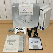 Sony PlayStation 2 PS2 Racing Pack Ceramic White japan free shipping rare game