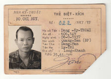 Wartime Republic of Vietnam Commando Identification Card, Tiger Stripe