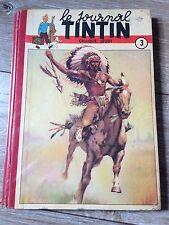 recueil reliure journal tintin France no 3 (1949) bel exemplaire