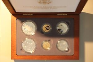 1991 Mt Rushmore 6-Coin Commemorative Set - 1/2 Of Gold RiGht Here Plus .999