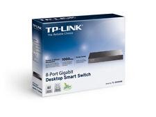 Switch TP-Link TL-SG2008 8 Ports Gigabit Mbps managed QoS 802.1QVLAN RJ-45