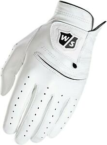 Wilson Staff FG Tour Pure Feel 1 Leather Glove Mens XL Regular Worn Left Hand