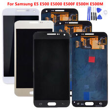 For Samsung Galaxy E5 E500 E5000 E500F LCD Display Touch Screen Lens Digitizer