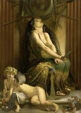 """perfect 24x36 oil painting handpainted on canvas """"medea """"@N13662"""