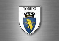 sticker adesivi adesivo stemma etichetta bandiera auto torino italia