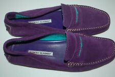 New without Box Manolo Blahnik Purple Suede Loather UK 5