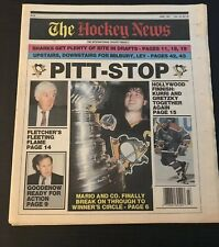 THE HOCKEY NEWS PENGUINS WIN STANLEY CUP 1990-1991, 1991-1992