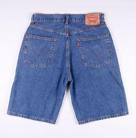 Vintage LEVI'S 569 Loose Fit Men's Casual Denim Shorts W32 L22