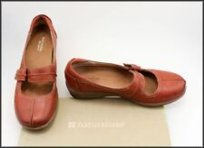 Velcro Leather Wide (C, D, W) Flats for Women