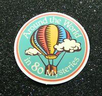 """2 """"Around the World"""" Vinyl Stickers"""