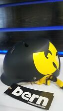 Bern Watts Wu-Tang Clan Limited Edition Helmet Size S/M Small Medium Matte Black