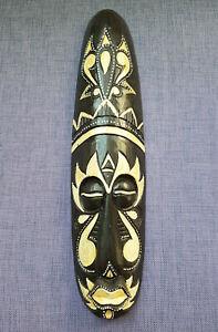 Holz-Maske Maske Wandeko Wandmaske Afrika 48 cm lang echt Holz