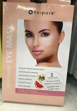 40 x Nu Pore Moisturizing UNDER EYE treatment  Honeysuckle & Grapefruit Masks