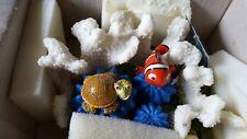 Original ZOLUX 355469 Koralle + Nemo + Schildkröte RIFF Aquarium Deko NEUWARE