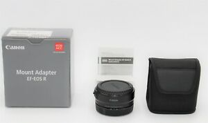 Canon EOS R Mount Adapter For EOS R RP R5 R6.WITH WARRANTY.