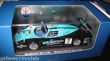 IXO 1:43 MASERATI MC12 #9 FIA GT WINNER SPA  2005 VITA PHONE  GTM040