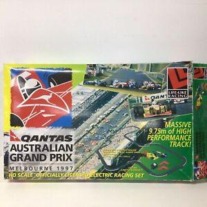 Life-Like Qantas F1 Australian Grand Prix 1997 HO Scale Electric Racing Set #460