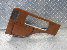 02 INFINITI QX4 CENTR CONSOLE CUP HOLDER SHIFTER WOOD TRIM