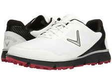 Callaway Balboa Vent Spikeless Golf Shoes White/Black 10.5 2E