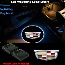 2x Wireless Car Door Projector LED Lights for Cadillac ATS ELR XTS Escalade