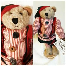 Enesco Teddy Tompkins Collectible Bear Vintage 1997 Johnny Bear 17 inches Tall