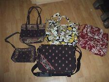 Vera Bradley tote backpack book bag lap top school shoulder bag beach 5 bag lot