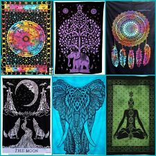 Multi 24p Wholesale Lot Wall Hanging Tapestry Twin Bedspread Bulk Hippie Bedding