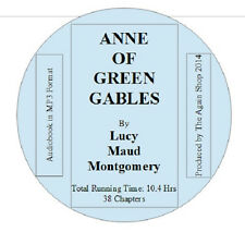 Audio CD Anne of Green Gables by Lucy Maud Montgomery (Run time 10.4 hours)