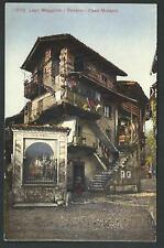 Baveno ( Verbania ) - Lago Maggiore - Casa Morandi - cartolina anni '20