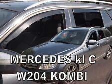 Mercedes classe C W204 4portes break Deflecteurs d'air Déflecteurs de vent 4pcs