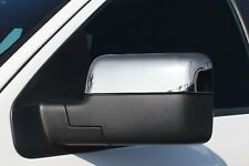 Carrichs | 2004-2008 Ford F-150 CHROME Mirror Covers (Top-Half)