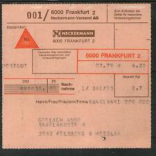 Briefmarken aus der BRD (1970-1979) mit Mischfrankatur-Erhaltungszustand