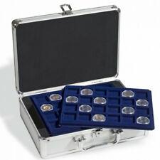 Valisette numismatique pour 144 pièces de 2 euros commémoratives.